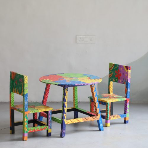 Kids Hand Painted Stools - Star